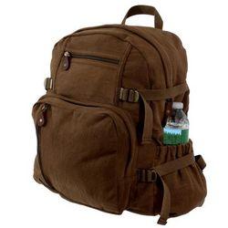 Brown Vintage Jumbo Backpack