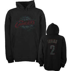 Kyrie Irving Cleveland Cavaliers Youth Hoodie