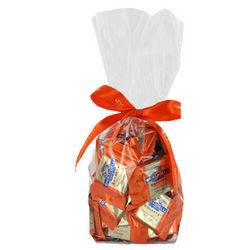 Dark and Orange Ghirardelli Squares Gift Bag