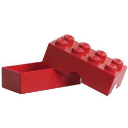Red LEGO Lunch Box