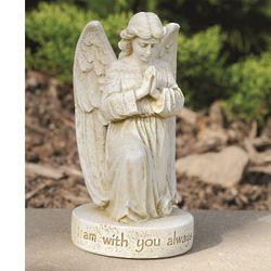 I Am with You Always Memorial Angel Garden Statue