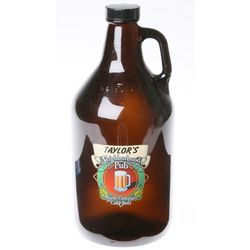 Personalized Neighborhood Pub Beer Growler