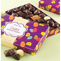 Fannie May Assortedt Chocolates in Easter Chick Wrap