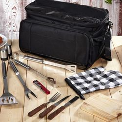 Cooler Bag and Grill Set