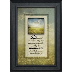 Take Your Breath Away Framed Print
