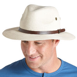 Men's SmartStraw Packable Golf Hat UPF 50+