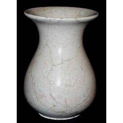 Natural Beige Marble Vase