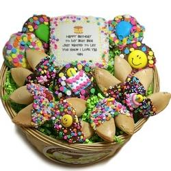 Custom Sweets Birthday Gift Basket