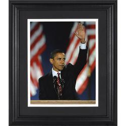 Barack Obama Inaugural Address Framed Unsigned Photograph