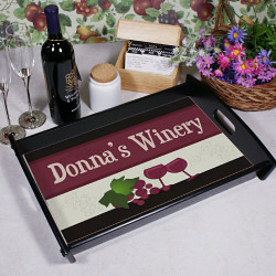 My Winery Personalized Serving Tray