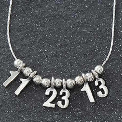 Your Special Date Sterling Silver Necklace