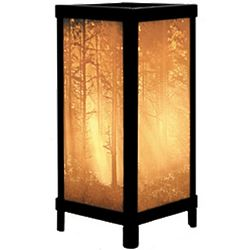 Woodland Sunbeams Lithophane Accent Lamp