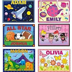 Personalized Kid's Placemat