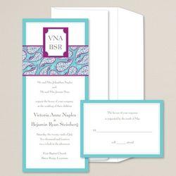 Modern Romance Wedding Invitations