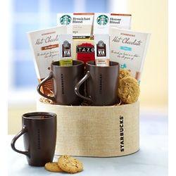 Starbucks for Two Gift Basket