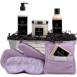 Sleep Well Pure Lavender Holiday Gift Basket