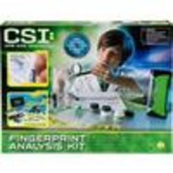 Crime Scene Investigation Fingerprint Analysis Kit