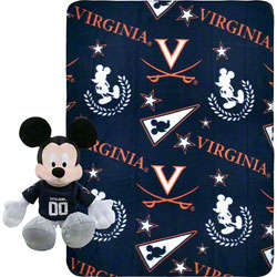 University of Virginia Cavaliers Disney Plush and Blanket Set