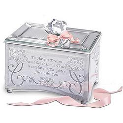 Personalized Daughter, You're a Dream Come True Music Box
