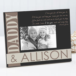 I Love You Each and Every Day Personalized Frame