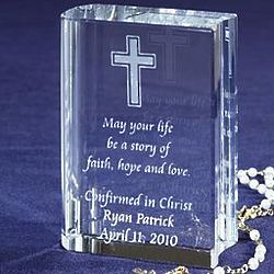 Personalized Crystal Bible