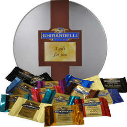 Pick and Mix Tremendous Tin of Ghirardelli Chocolate Squares