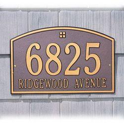Cape Charles Address Marker