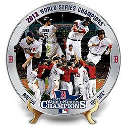 Boston Red Sox 2013 World Series Commemorative Plate