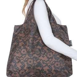 Brown Rosa Reusable Shopping Bag