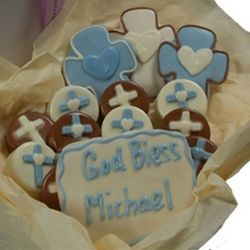 Personalized Baptism Oreo Cookie Box