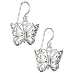 Polished Butterfly Earrings
