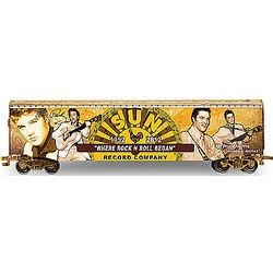 Elvis Presley Sun Records 60th Anniversary Train Car