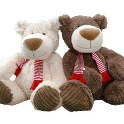 "Personalized 15"" ChristmasTeddy Bear"