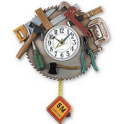 Tool Pendulum Clock
