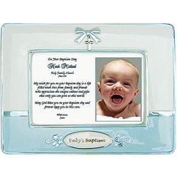 baptism frame for baby boy