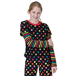 Bright Night Pajamas for Girls