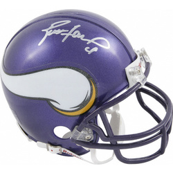 Brett Favre Autographed Mini Helmet