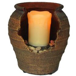 Cordless Tranquility Fountain Candle