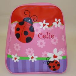 Ladybug Personalized Backpack