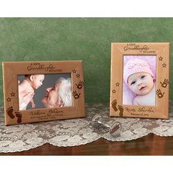 Personalized A New Love Wooden Picture Frame