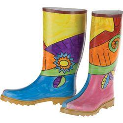 Handpainted Rain Boots