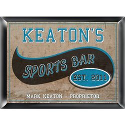 Personalized Sports Bar and Pub Sign
