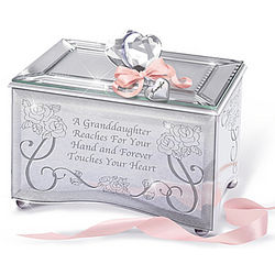 Personalized You Forever Touch My Heart Granddaughter Music Box