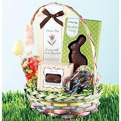 Fannie Mae Hippity Hoppity Bunny Easter Candy Basket