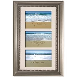 Trio Sand Wedding Memories Frame