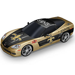 New Orleand Saints Super Bowl XLIV Corvette Sculpture