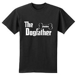 Personalized Dogfather T-Shirt