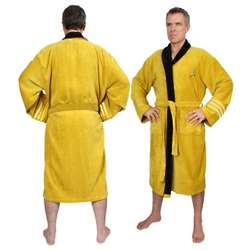 Captain Kirk Star Trek Bathrobe