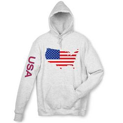 USA Graphics Hooded Sweatshirt