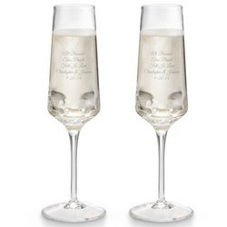 Rian Champagne Toasting Flutes